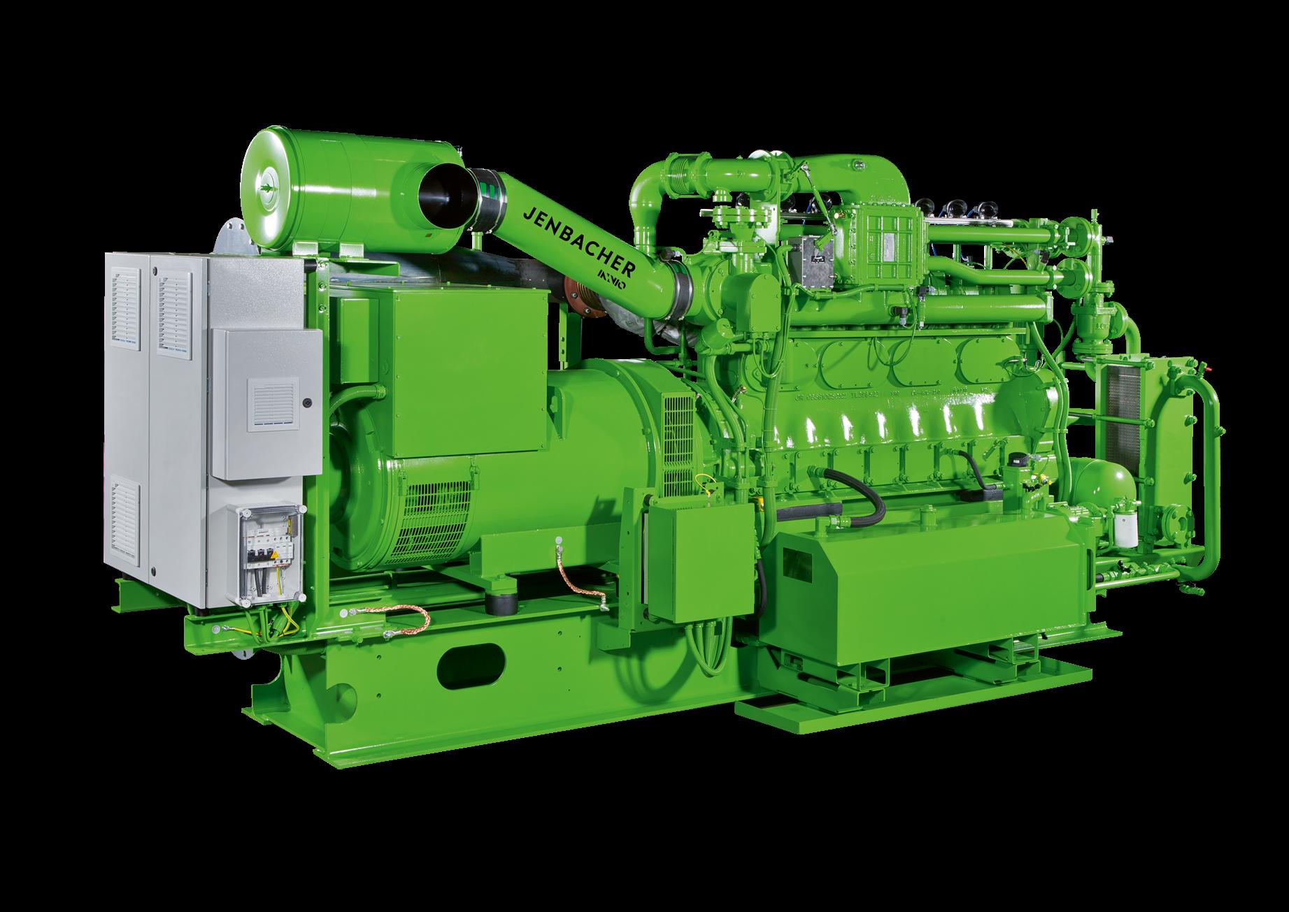 Газопоршневые установки Jenbacher 2 серия