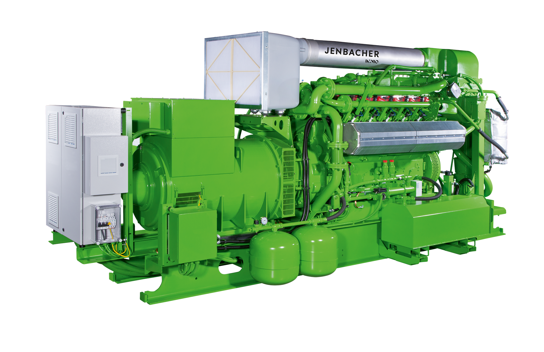 Газопоршневая установка Jenbacher 312