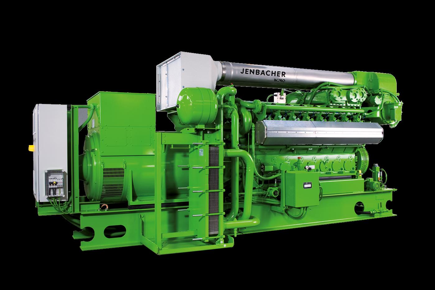 Газопоршневая установка Jenbacher 316