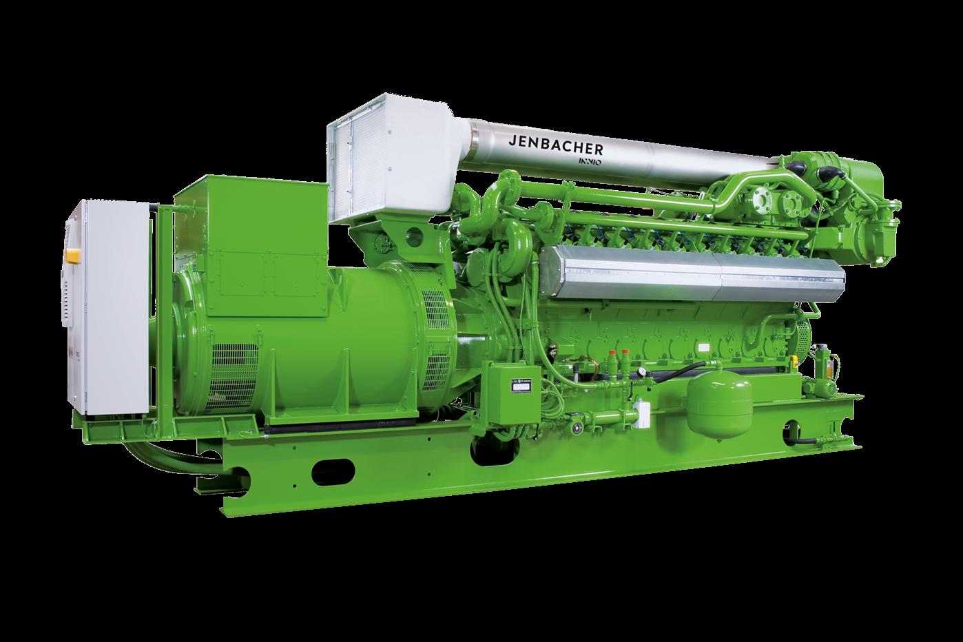 Газопоршневая установка Jenbacher 320