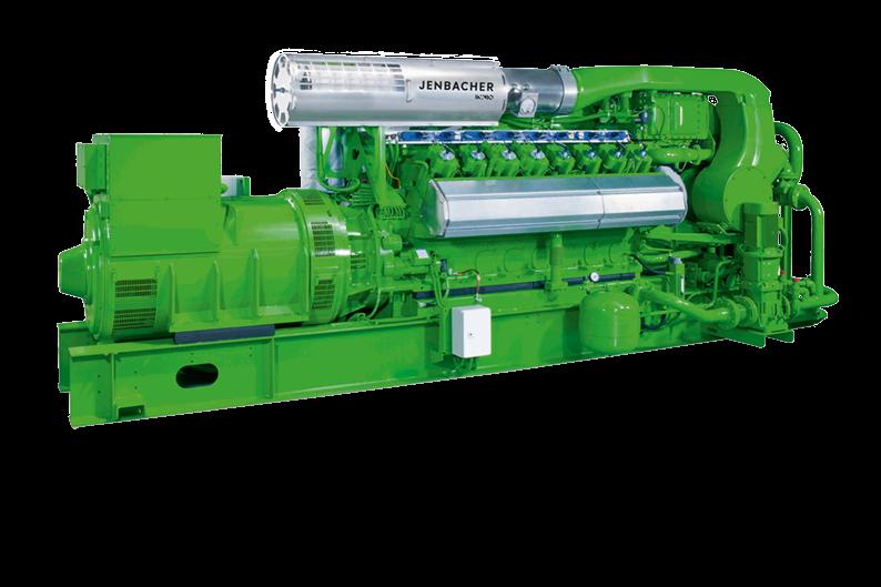 Газопоршневая установка Jenbacher 416