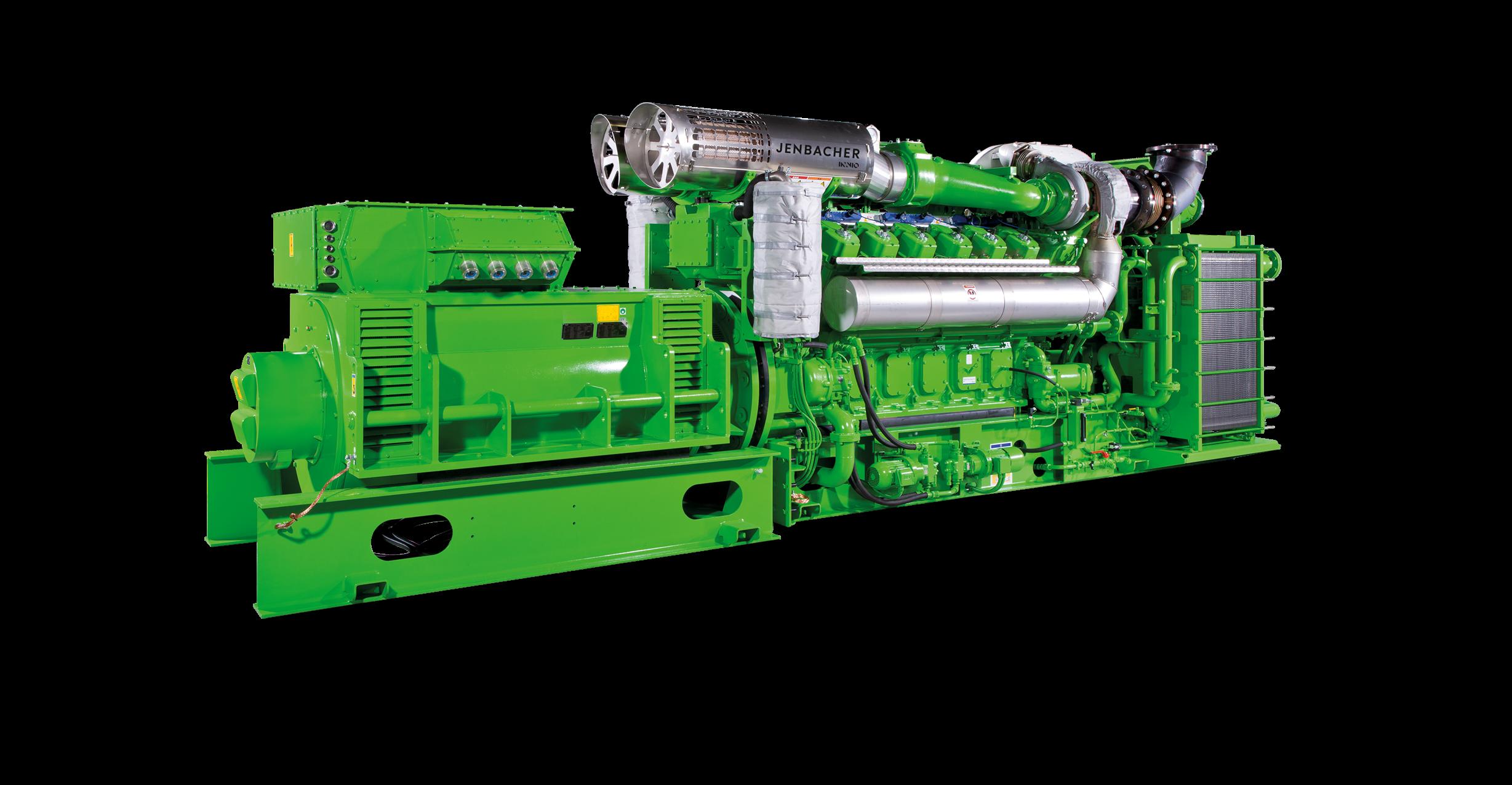 Газопоршневая установка Jenbacher 612