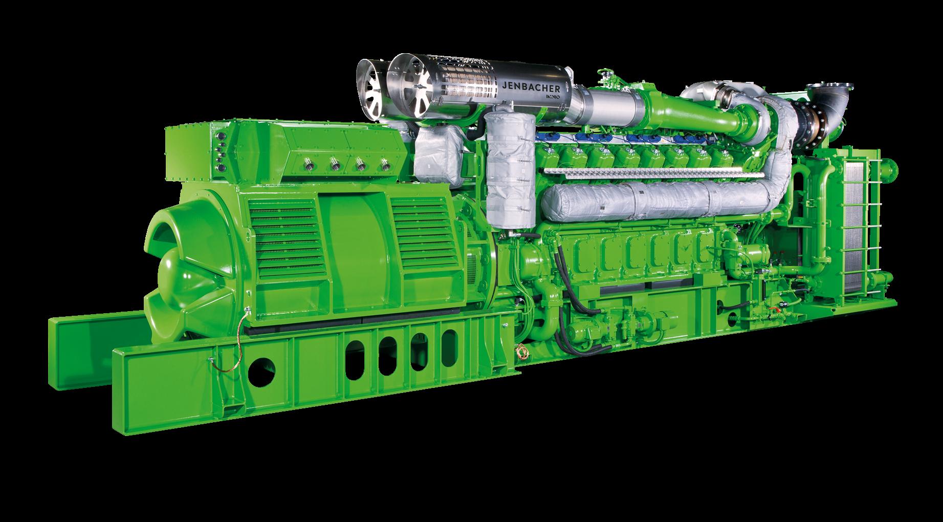 Газопоршневая установка Jenbacher 616
