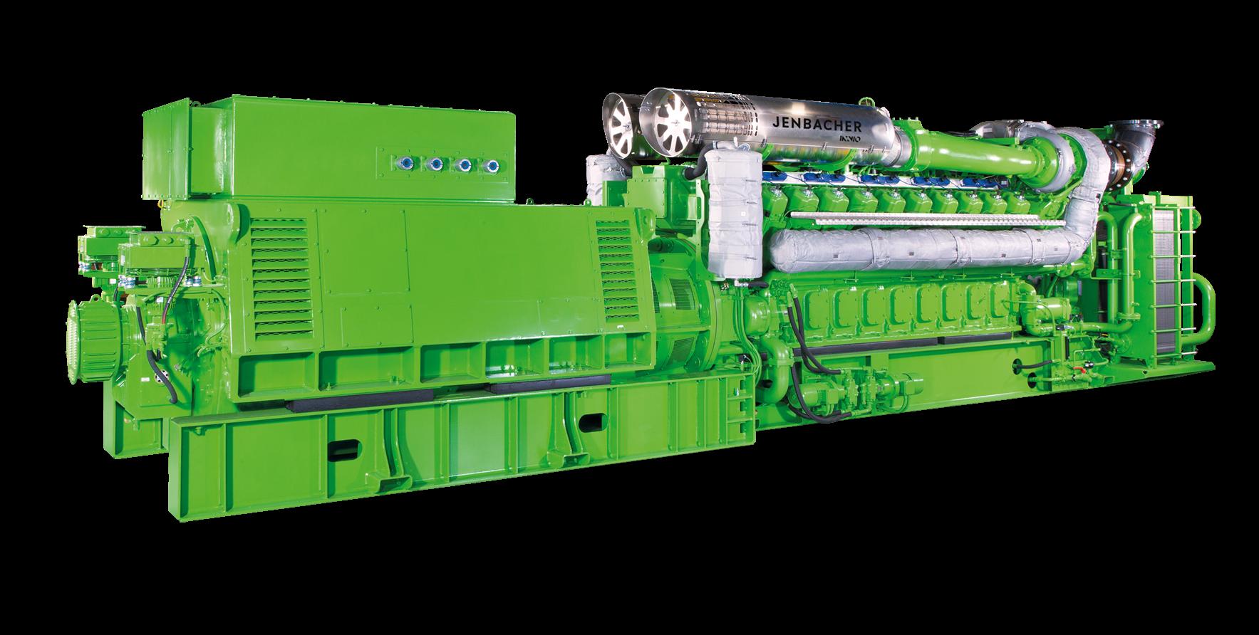 Газопоршневая установка Jenbacher 620
