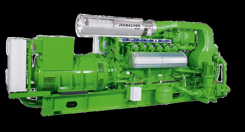 Газопоршневые установки Jenbacher 412